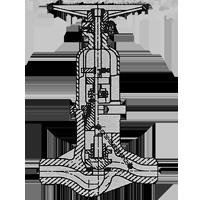 Globe stopcheck valve