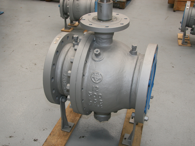 Side entry valve