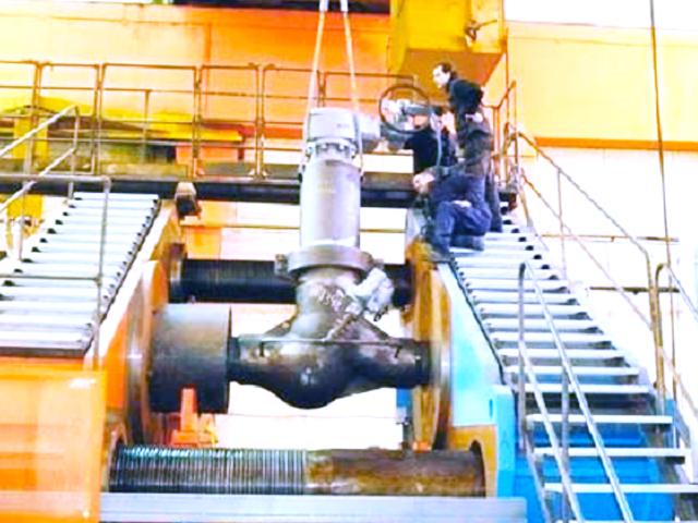 testing valves