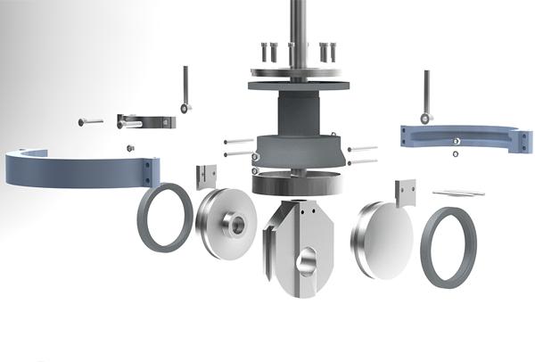Parallel slide gate valve