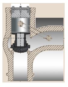 angle lift check valve