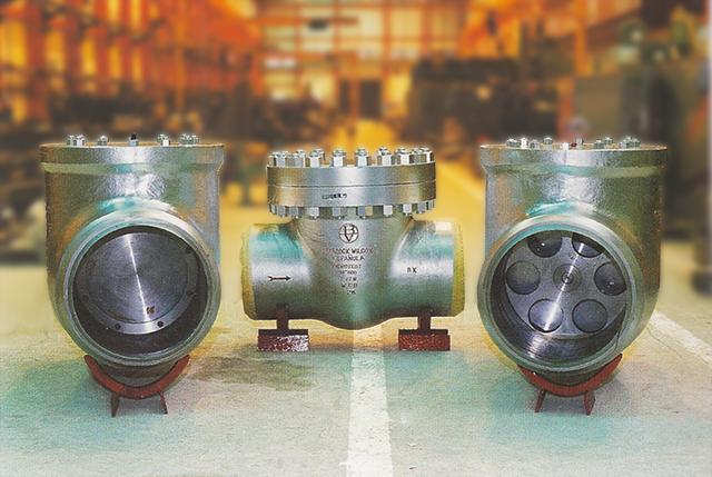 hydrotest check valves