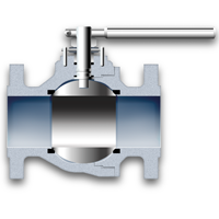 Floating ball valve