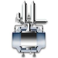 Trunnion mounted valve