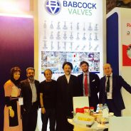 Babcock Valves in the Tehran Times (Iran Oil Show)