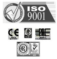 ISO 9001, CE mark