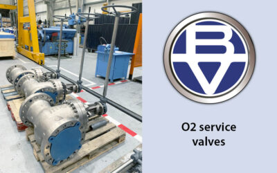 O2 service valves