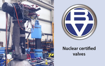 Nuclear certified gate valve supplied to Cofrentes
