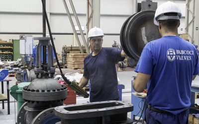 Double disc valves for Petronas Melaka Refinery