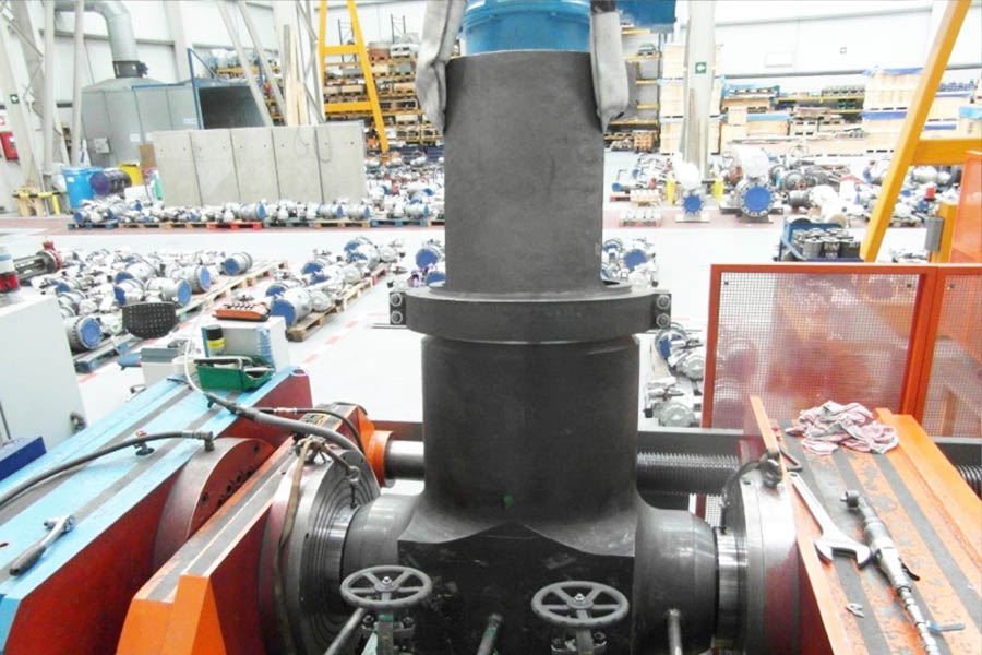 Complete package of valves supplied for a General Electric's Bangladesh natural gas CCPP.