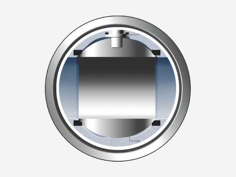 Ball valve mechanism scheme